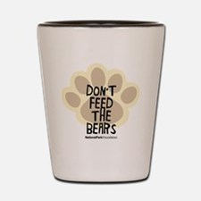 Don't Feed the Bears Shot Glass