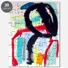 ABSTRACT PAINTING Puzzle