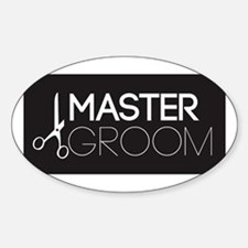 Unique Dog grooming Decal