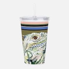 Funny Lizard Acrylic Double-wall Tumbler
