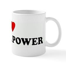 I Love FLOWER POWER Mug
