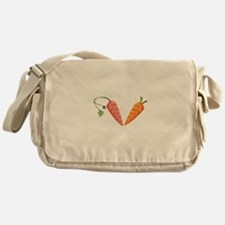 Carrots Vegetables Food Messenger Bag