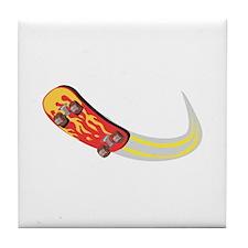 Fast Skateboard Tile Coaster