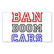 Ban Boom Cars Decal