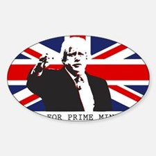 BORIS FOR PM Decal