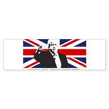 BORIS FOR PM Bumper Car Sticker