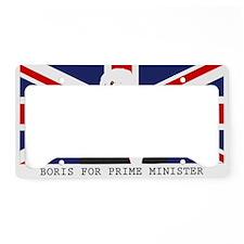 BORIS FOR PM License Plate Holder