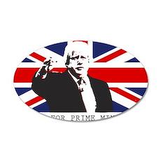 BORIS FOR PM Wall Sticker