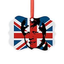 British Boris Ornament