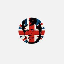 British Boris Mini Button