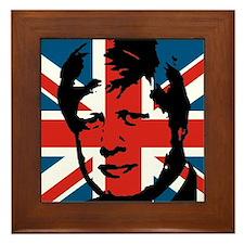 British Boris Framed Tile