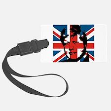 British Boris Luggage Tag