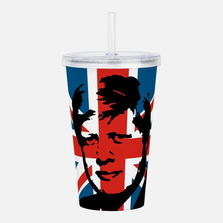 British Boris Acrylic Double-wall Tumbler