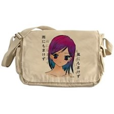 Unique Manga Messenger Bag