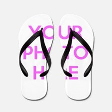 Customize photos Flip Flops