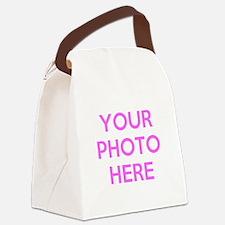 Customize photos Canvas Lunch Bag