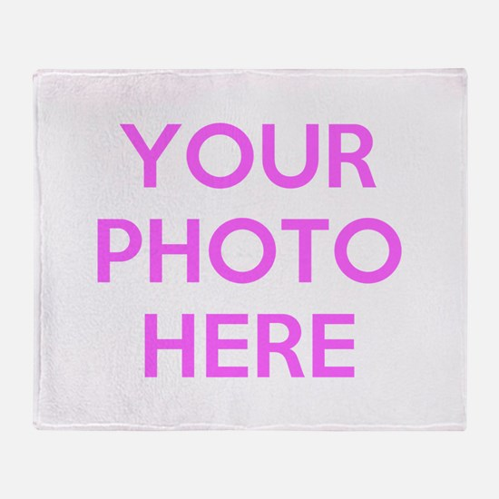 Customize photos Throw Blanket