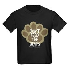 Dont Feed The Bears Kids Dark T-Shirt