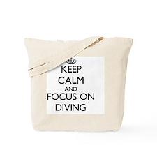 Calm dive Tote Bag