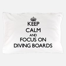 Calm dive Pillow Case