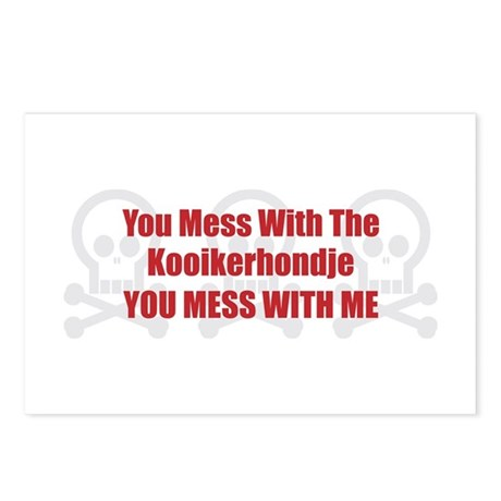 Mess With Kookier Postcards (Package of 8)