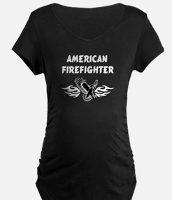 American Firefighter Maternity T-Shirt