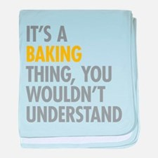 Its a Baking Thing baby blanket