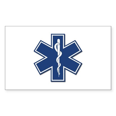 EMT Rescue Oval Sticker