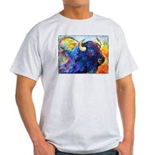 Buffalo, colorful art! T-Shirt