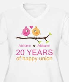Personalized 20th T-Shirt