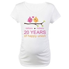 Personalized 20th Anniversary Shirt