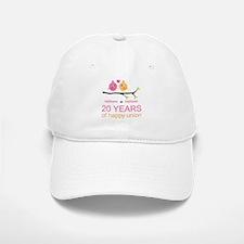 Personalized 20th Anniversary Baseball Baseball Cap