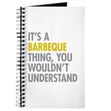 Its A Barbeque Thing Journal
