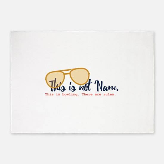 this is not 'nam 5'x7'Area Rug