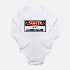DANGER is my middle name Body Suit