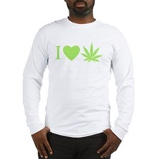 Funny Kush Long Sleeve T-Shirt