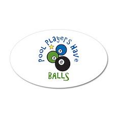 Pool Balls Wall Decal