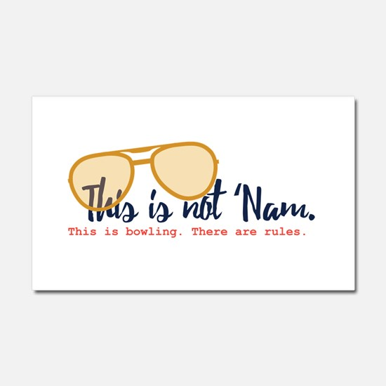 this is not 'nam Car Magnet 20 x 12