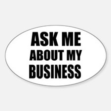 Ask me about my Business Decal