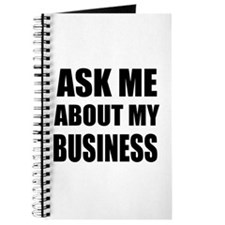 Ask me about my Business Journal