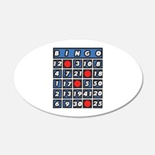 Bingo Card Wall Decal