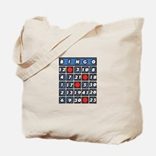 Bingo Card Tote Bag