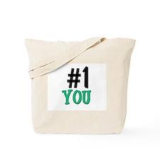Number 1 YOU Tote Bag