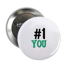 """Number 1 YOU 2.25"""" Button (10 pack)"""
