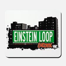 EINSTEIN LOOP, Bronx, NYC Mousepad