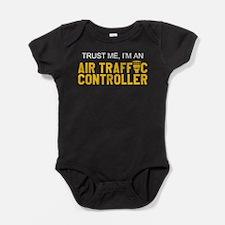 Cute Air traffic controller Baby Bodysuit