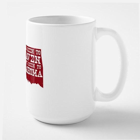 Oklahoma Heaven Large Mug