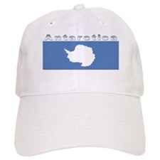 Antarctic flag Baseball Cap