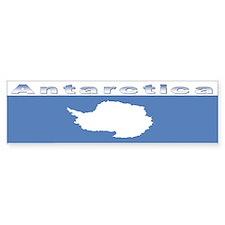 Antarctic flag Bumper Sticker
