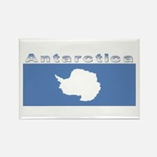 Antarctic flag Rectangle Magnet
